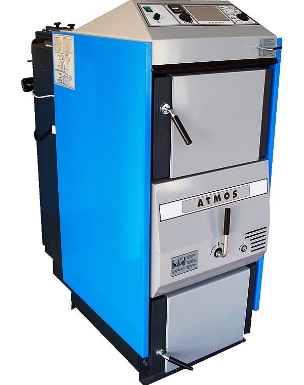 Твердотопливные котлы Atmos C 18 S 20 кВт (Чехия)