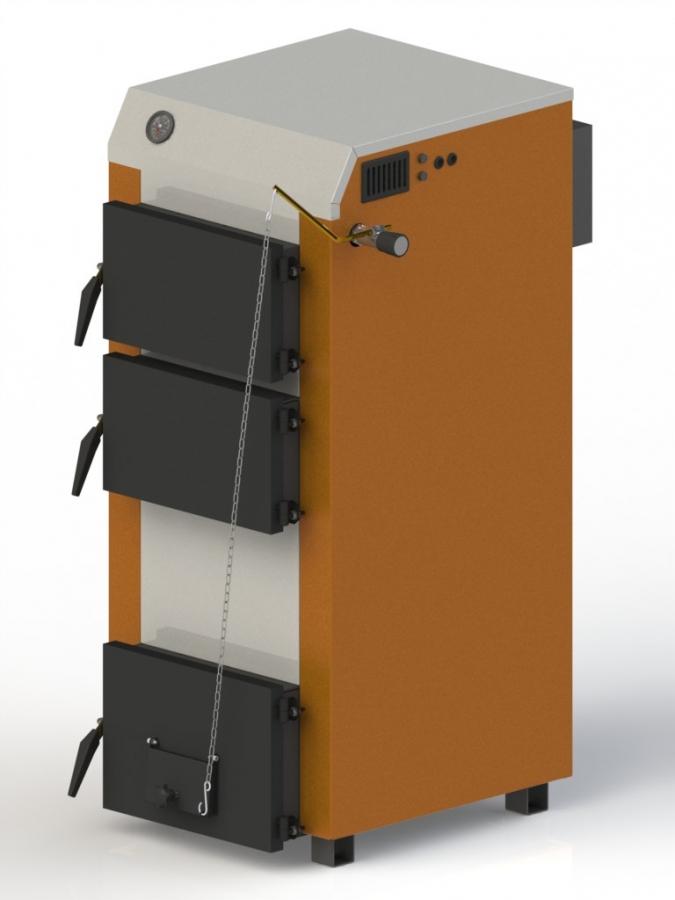 Твердотопливный котел Kotlant КГ-15 мех. регулятор тяги