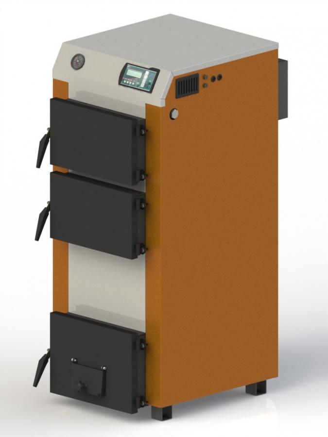Твердотопливный котел Kotlant КГ-15 (электро автоматикой с вентилятором)