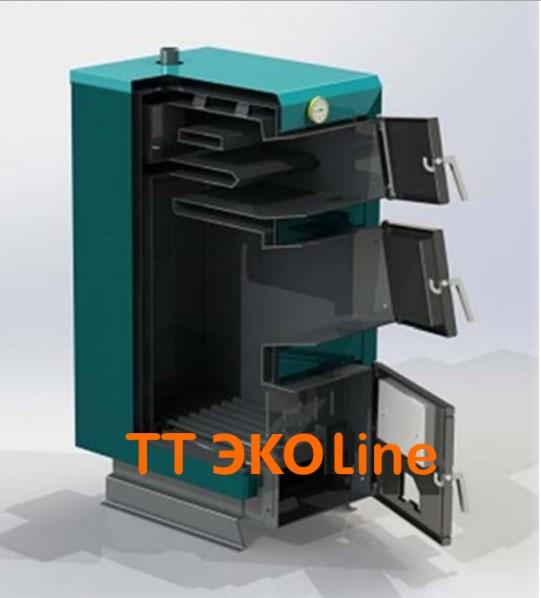 Твердотопливные котлы Protech ТТ - 15 ЭКОLine  15 кВт (Харьков)